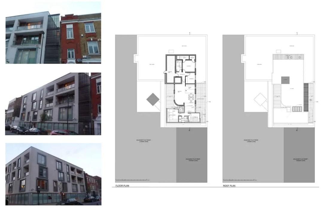 Architect designed penthouse extension Angel Islington N1 Site plans 1200x782 Angel, Islington N1 | Penthouse extension