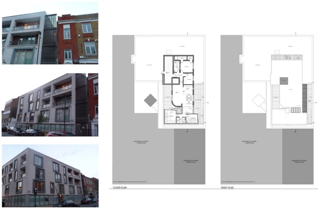 Architect designed penthouse extension Angel Islington N1 Site plans 1200x800 Angel, Islington N1 | Penthouse extension