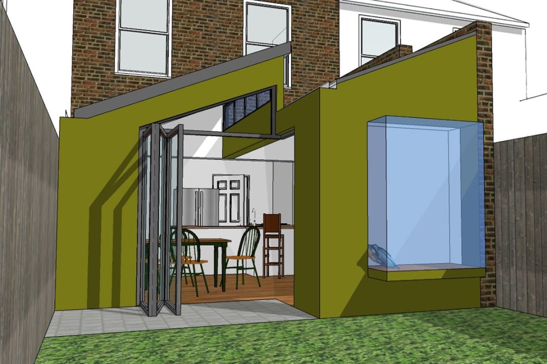 Barnes Richmond SW14 – Rear house kitchen extension – 3D image copy 1200x800 Barnes, Richmond SW14 | Rear house kitchen extension