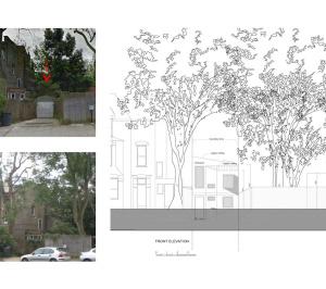 Highgate Haringey N8 Residential development feasibility study Elevation 300x266 Highgate N8 | Residential development feasibility study