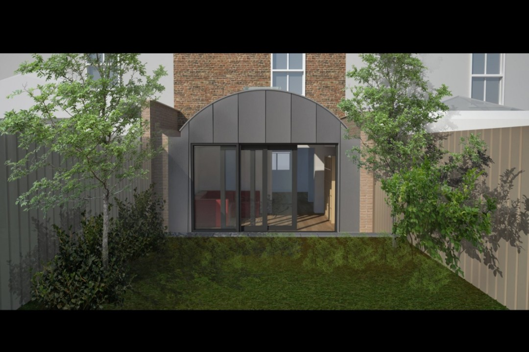Angel Islington N1 Listed House rear extension – 3D Rear elevation 1200x800 Angel Islington N1 | Listed house rear extension