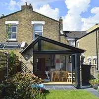 Nunhead Lewisham SE15 House kitchen extension – Rear elevation 200x200 Brockley, Lewisham SE4 | House extension