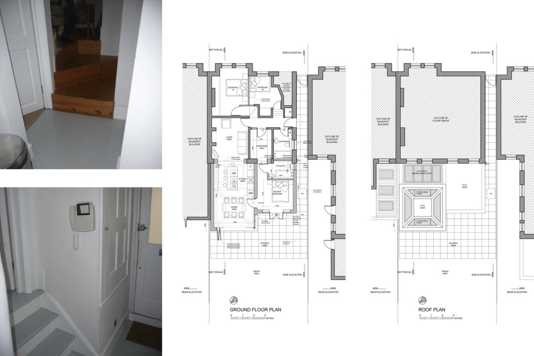 Architect designed garden flat extension Tooting Broadway Wandsworth SW17 Floor plans 1 1200x800 Tooting Broadway, Wandsworth SW17 | Garden flat extension