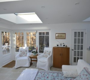 Enfield Chase EN2 Rear house extension refurbishment Living area 300x266 Enfield Chase EN2|Rear house extension and refurbishment