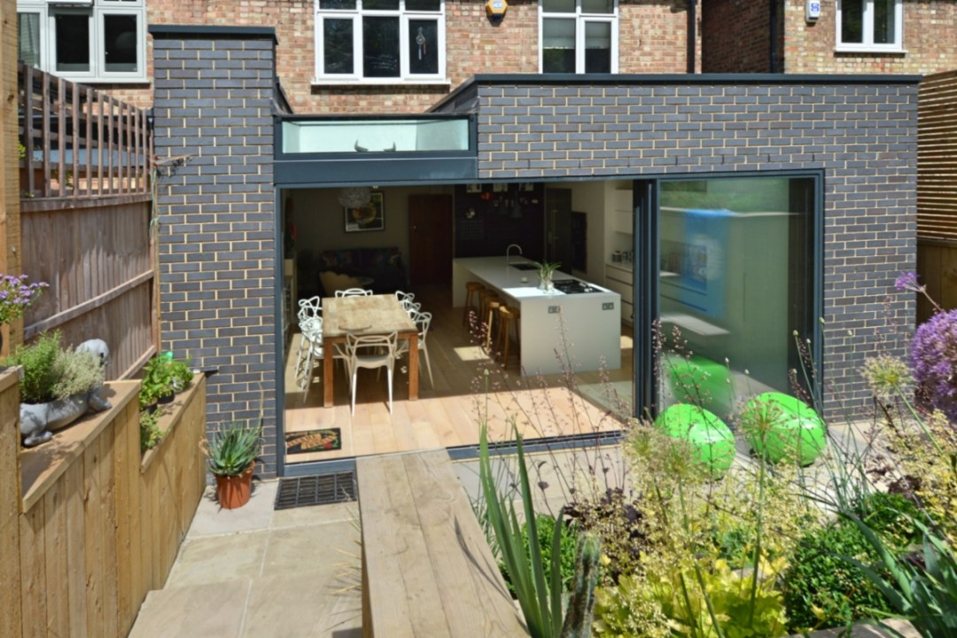 Architect designed rear house extension Highgate Haringey N6 – Rear elevation 1200x800 Highgate, Haringey N6 | Rear house extension