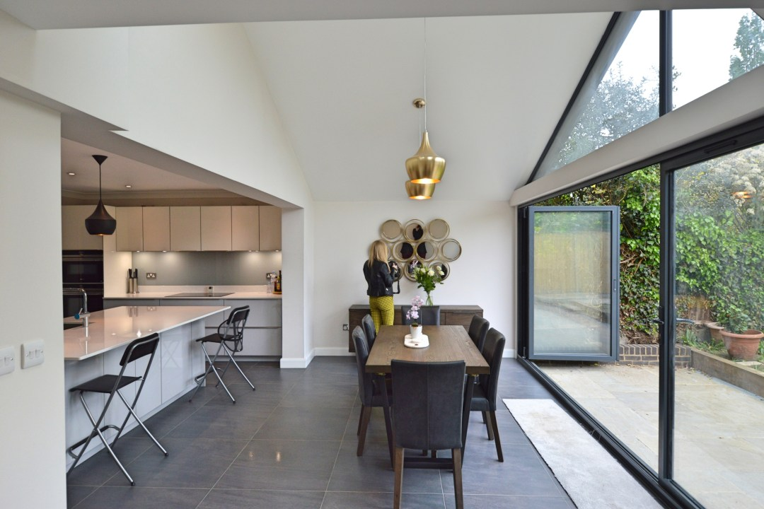Architect designed roof and kitchen house extension Kingston KT2 Dining area 1200x800 Kingston KT2 | Roof and kitchen house extension