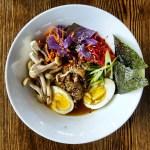 The duck ramen from Bight Restaurant