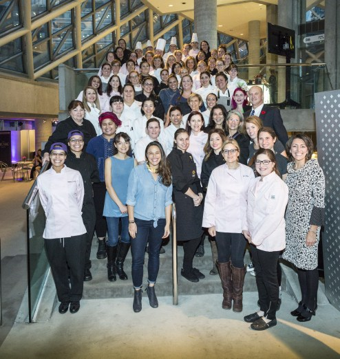 60 female chefs from 2016 Eat To The Beat