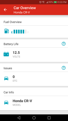 Vehicle overview on the Rogers Smart Drive