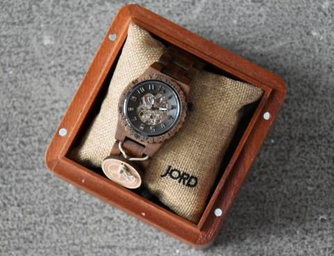 JORD Koa and Black watch