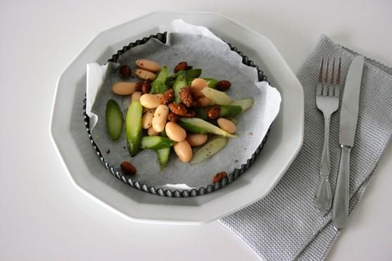Spargelsalat mit weißen Bohnen1