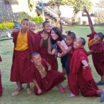There's no shortage of personality in these young monks!