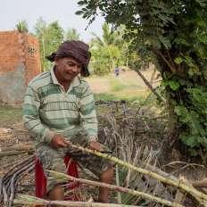 The sugar cane man