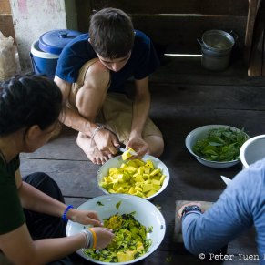 There may be no better way to experience a culture than to help prepare and share a meal with a host family