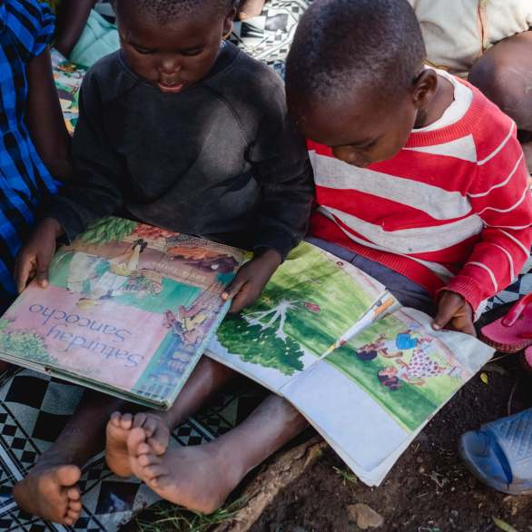 Give a child a toy, and you amuse them for a while. Give a child a book, and you can inspire them for a lifetime.