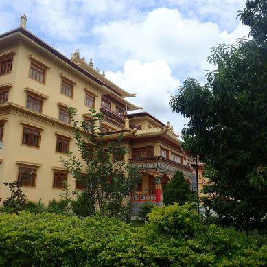 Monastery outside Kathmandu, Nepal
