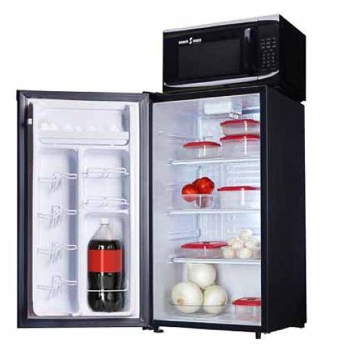 snackmate 3 3 cuft all fridge microwave combo