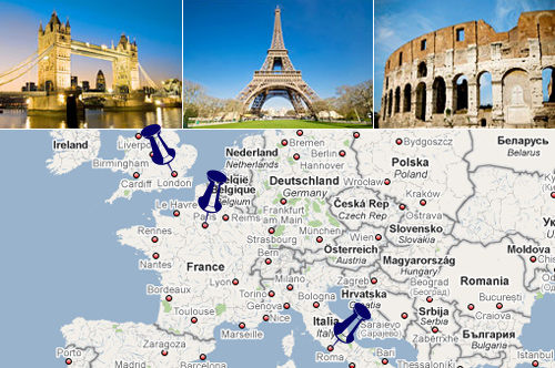 Europe Vacation Planner