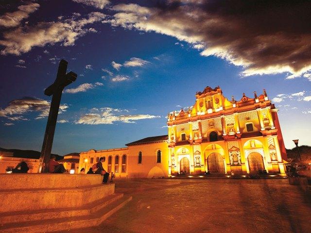 Plaza de San Cristóbal de las Casas, Chiapas.