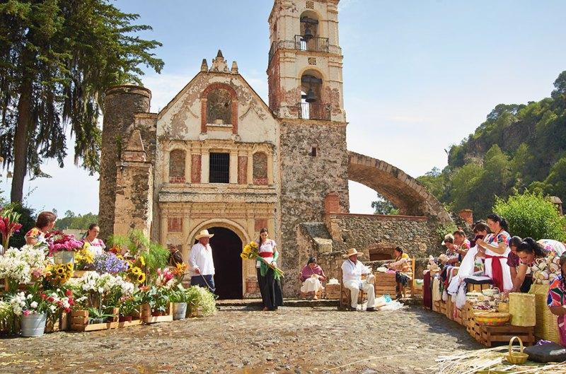 Capilla de Nuestra Señora de Loreto en Huasca, Hidalgo