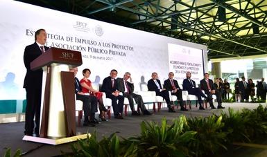 El secretario de Hacienda presentó la Estrategia de Impulso a los Proyectos de Asociación Público Privada