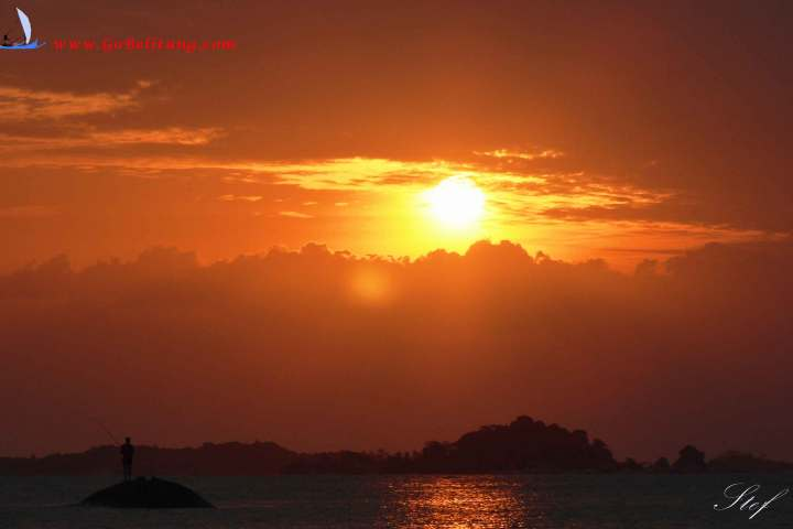 pecheur ouche de soleil Go Belitung