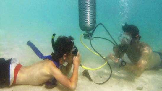 diving-Belitung Indonésie gobelitung