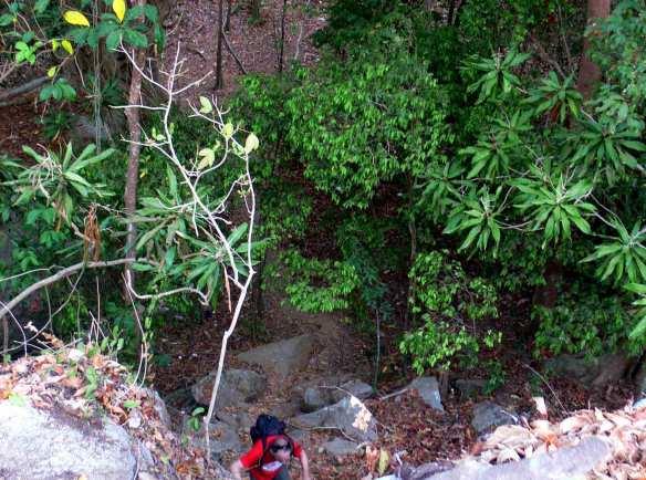 acces Batu Baginde Belitung Indonésie