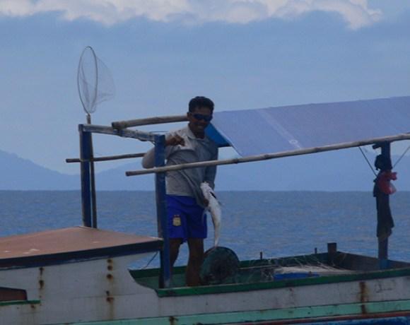 pêcheur Belitung Indonésie Go Belitung