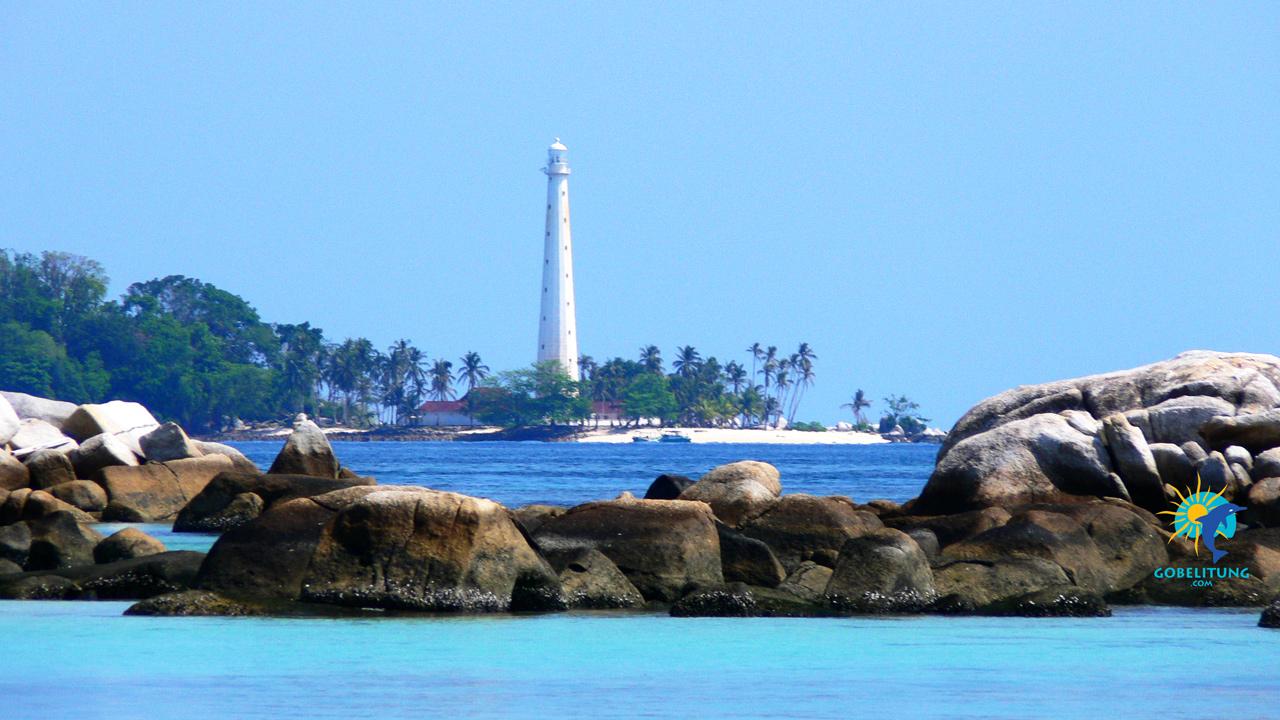 Pulau Lengkuas Belitung GoBelitung Indonesia