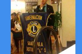 Juramentación de la Directiva del Club de Leones Jalapa