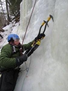 Enock Ice Climbing