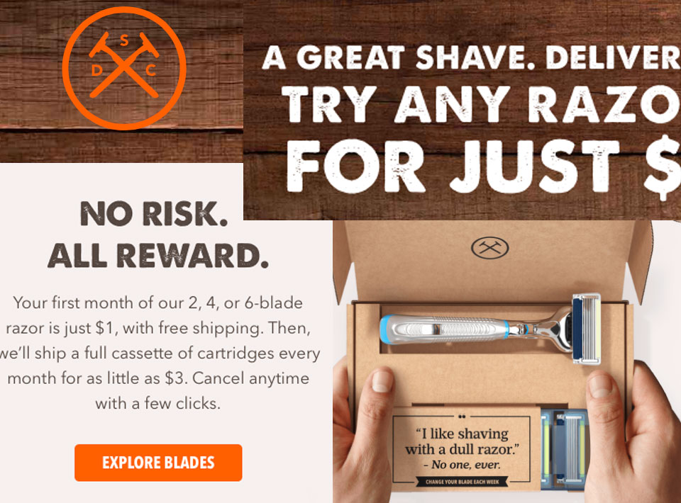dollar shave club brand images