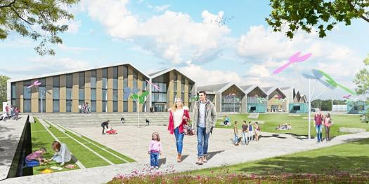 North Lanarkshire Council – Town hub visualisation