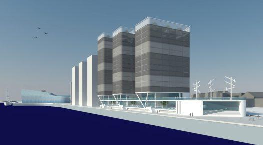Yorkhill Quay Phase 2 render
