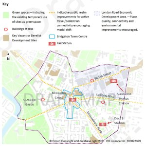 Bridgeton map with mistakes