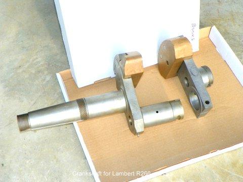 Lambert R-266 crankshaft