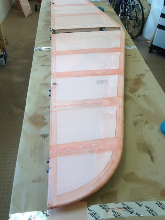 Poly Fiber tapes on horizontal stabilizer