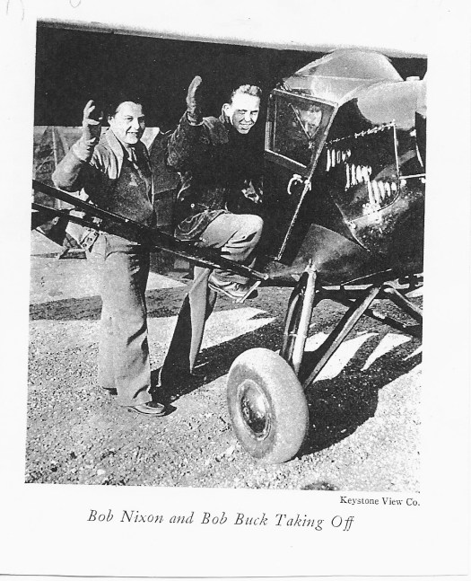 Bob Buck departs Newark in NC193K