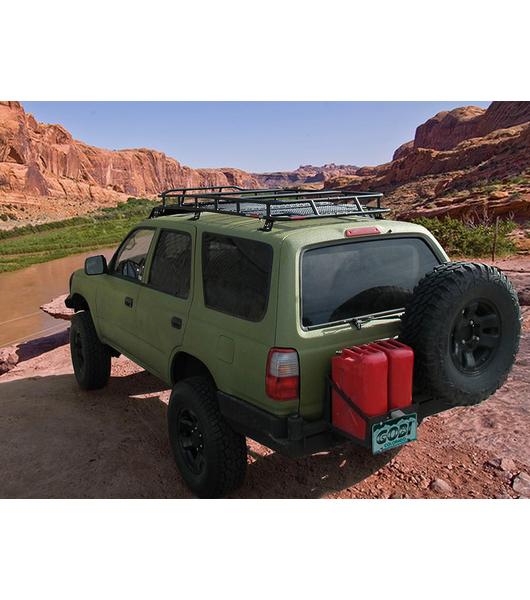 toyota 4runner 3rd gen ranger rack multi light setup no sunroof