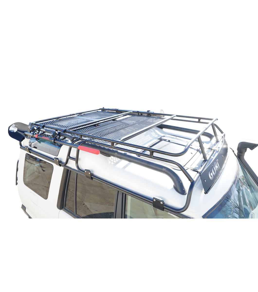 land rover discovery ii ranger rack multi light setup with sunroof