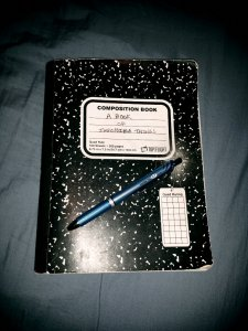 my notebook & pen