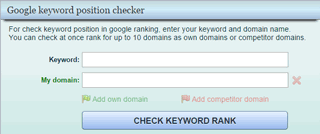 Moonsy Google rank checker