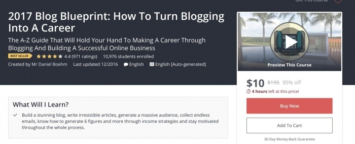 2017 Blog Blueprint: How To Turn Blogging Into A Career