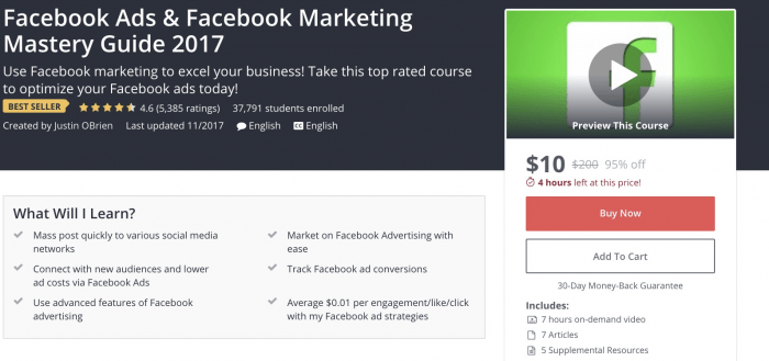 Facebook Marketing Mastery Guide
