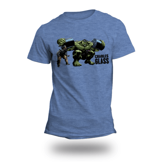 Charles Glass Hulk Shirt – Athletic Blue
