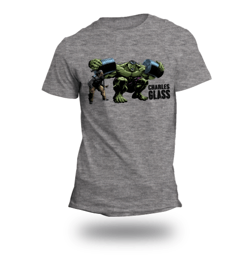 Charles Glass Hulk Shirt – Athletic Grey