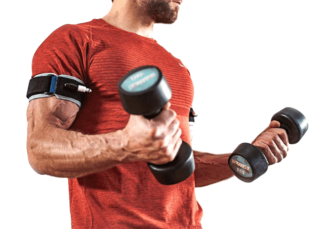 B STRONG logo Home Banner Training Weights