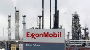 Photo of ExxonMobil sign