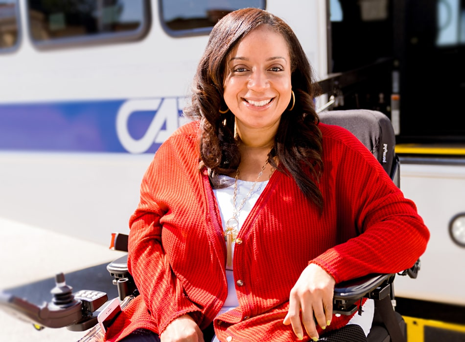 CARTA is ADA compliant for riders with disabilities.